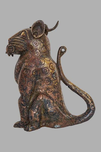 Leopard Royal aquamanile Bronze