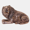 Figurine Lion en pierre à savon (stéatite)