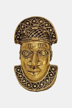 Masque pendentif de roi Edo