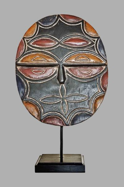Masque Téké Kidumu Gabon