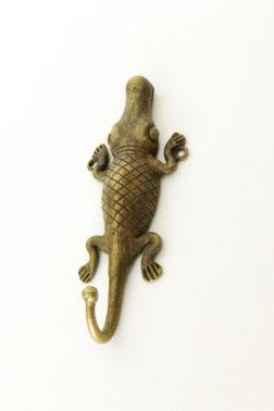 Patère / Crochet décoratif crocodile