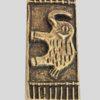 Boîte à poudre d'or Akan
