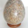 Oeuf décoratif en pierre a savon