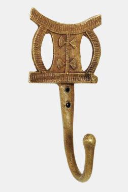 Patère / Crochet décoratif Tabouret Royal Ashanti
