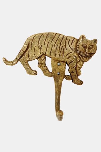 Patère / Crochet décoratif Tigre