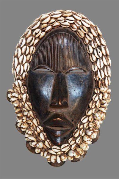 Masque Chanteur Dan Yacouba Côte d'Ivoire