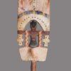 Bâton/Sceptre Oshe Shango Nagô bois polychrome – Bénin