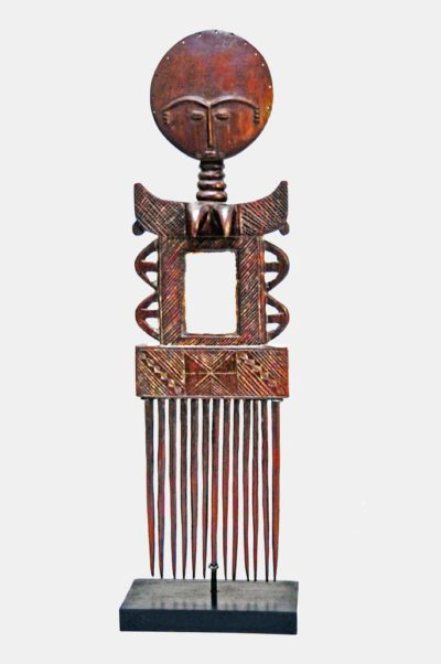 Peigne miroir ashanti