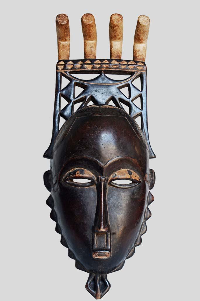 Masque Yaouré Kokolè kwain - Côte d'Ivoire