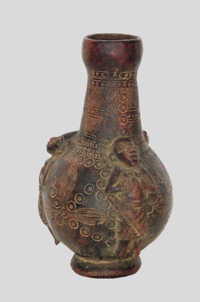 Vase nigerian en terre cuite