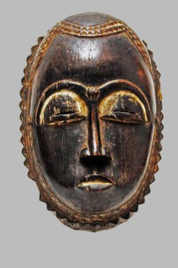 Masque Yaouré/Yohouré Côte d'Ivoire