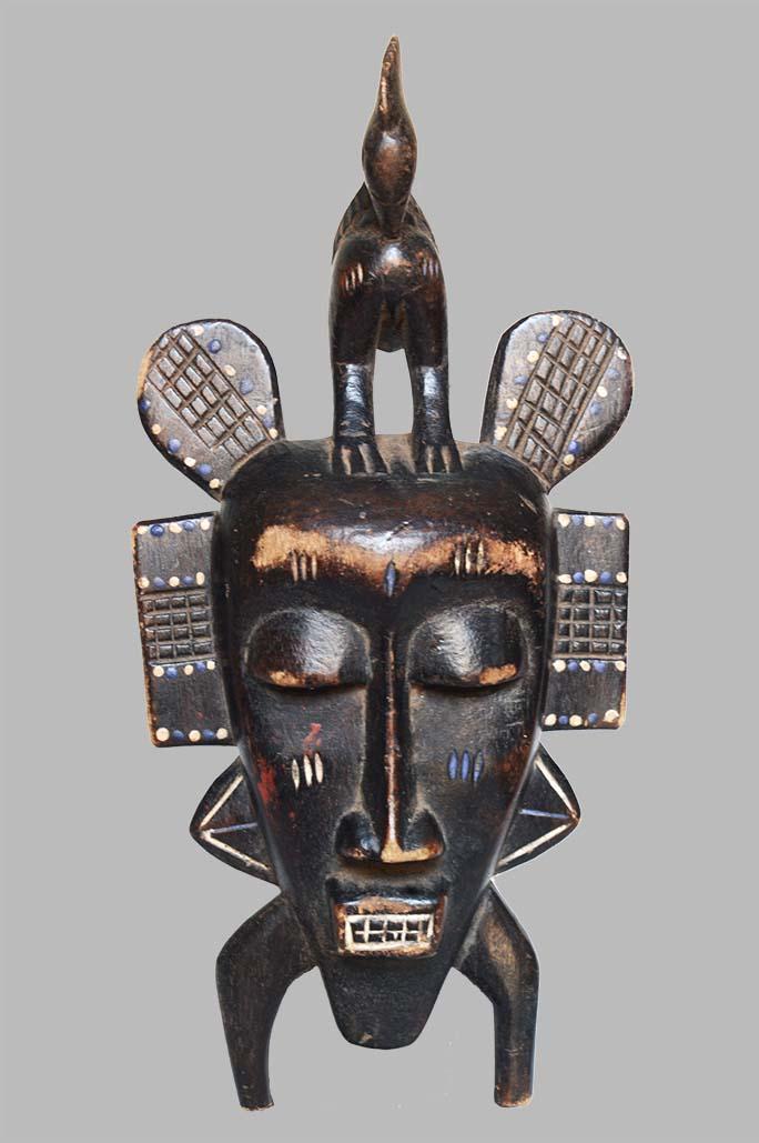 Masque Djimini Passeport - Côte d'Ivoire