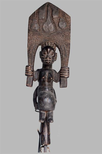 Bâton de danse Maternité Oshe Shango, Nigéria